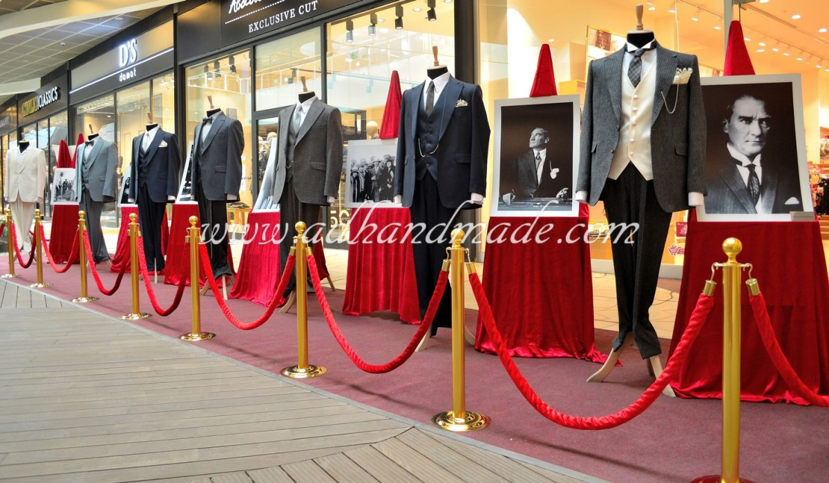 "The Exhibition of ATATÜRK's Clothes ""The Most Stylish Leader of the Century"""