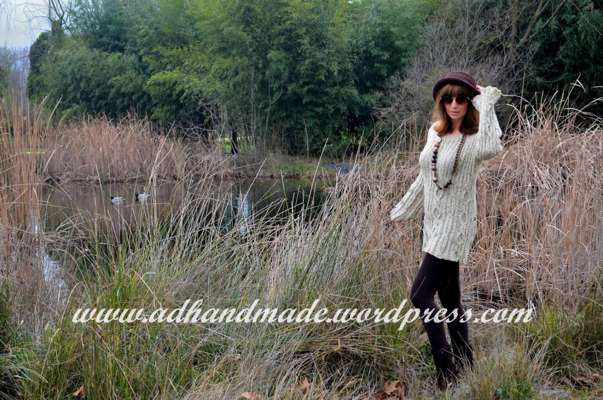 Tweed Yarn & Knit Tunic